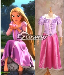 Tangled Rapunzel cosplay Costume