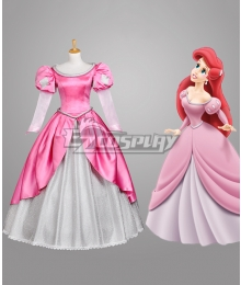 Disney Beauty and the Beast Belle Mermaid Cosplay Costume