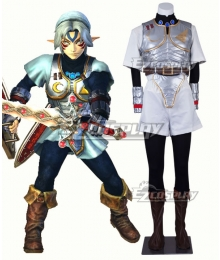 The Legend of Zelda Link Fierce Deity Cosplay Costume