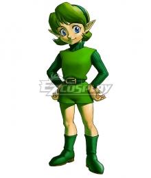 The Legend of Zelda Saria Cosplay Costume
