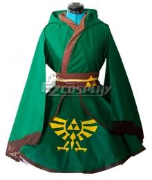 The Legend of Zelda Link Female Lolita Cosplay Costume