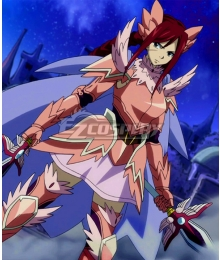 Fairy Tail Erza Scarlet Armadura Fairy Cosplay Costume
