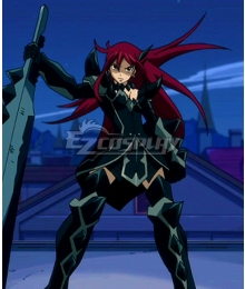 Fairy Tail Erza Scarlet Purgatory Armor Cosplay Costume