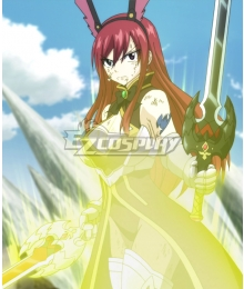 Fairy Tail Erza Scarlet Rabbit Armor Cosplay Costume