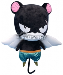 Fairy Tail Panther Lily Plush Doll Cosplay Accessory Prop