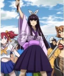 Fairy Tail Season 3 Kagura Mikazuchi Cosplay Costume