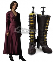 Fantastic Beasts: The Crimes of Grindelwald Leta Lestrange Brown Shoes Cosplay Boots