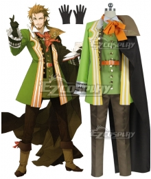 Fate Apocrypha Caster of Red William Shakespeare Cosplay Costume