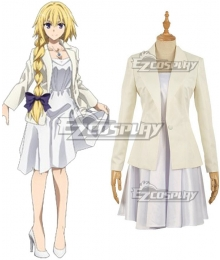 Fate Apocrypha Ruler Joan Of Arc Jeanne D'Arc Epilogue Event Cosplay Costume