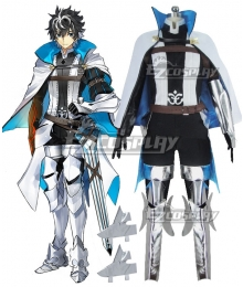 Fate Extella Link Saber Charlemagne Carolus Magnus Cosplay Costume