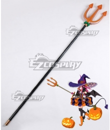 Fate EXTRA CCC Fate Grand Order Caster Elizabeth Bathory Halloween Trident Cosplay Weapon Prop