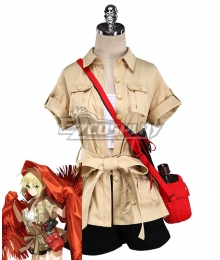 Fate Grand Order 3rd anniversary Nero Claudius Caesar Augustus Germanicus Cosplay Costume