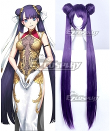 Fate Grand Order 3rd anniversary Rider Ruler Marthe Purple Cosplay Wig