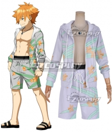Fate Grand Order Archer Robin Hood Swimsuit Cosplay Costume