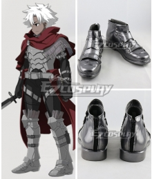 Fate Grand Order Assassin EMIYA Emiya Kiritsugu  Silver Cosplay Shoes