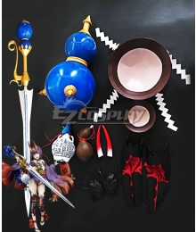 Fate Grand Order Assassin Shuten Douji Bunny Girl Cosplay Weapon Prop