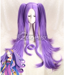 Fate Grand Order Assassin Wu Zetian Purple Cosplay Wig