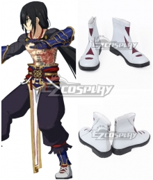 Fate Grand Order Assassin Yan Qing White Cosplay Shoes