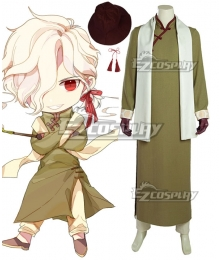 Fate Grand Order Avenger Edmond Dantes Detective Edmond Foreign Infiltration Arc Cosplay Costume