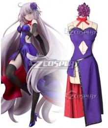 Fate Grand order Avenger Jeanne d'Arc Alter Armor Concert Dress Cosplay Costume