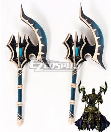 Fate Grand Order Berserker Darius III Two Hatchets Cosplay Weapon Prop