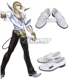 Fate Grand Order Berserker Sakata Kintoki White Cosplay Shoes
