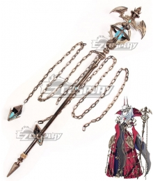 Fate Grand Order Carmilla Elizabeth Bathory Staves Cosplay Weapon Prop