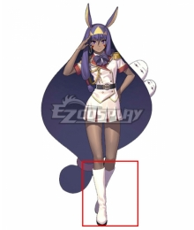 Fate Grand Order Caster Assassin Heroic Spirit Formal Dress Nitocris White Shoes Cosplay Boots