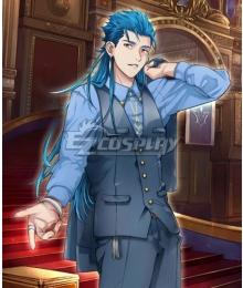 Fate Grand Order Caster Cu Chulainn FGO 2nd Anniversary Cosplay Costume