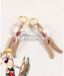 Fate Grand Order Caster Gilgamesh Earrings Cosplay Accessory Prop