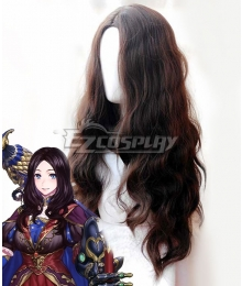 Fate Grand Order Caster Leonardo Da Vinci Brown Cosplay Wig