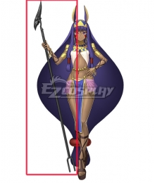 Fate Grand Order Caster Nitocris Stick Cosplay Weapon Prop