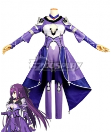 Fate Grand Order Caster Scathach Sprite 2 Cosplay Costume