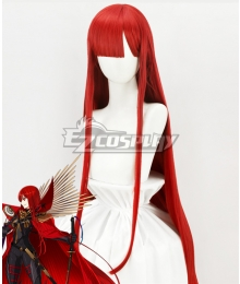Fate Grand Order Demon King Nobunaga Oda Red Cosplay Wig
