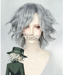 Fate Grand Order Edmond Dantes Silver Grey Cosplay Wig