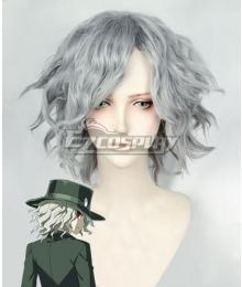 Fate Grand Order Edmond Dantes Silver Grey Cosplay Wig