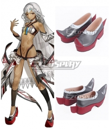 Fate Grand Order Fate Extella Saber Attila Red Cosplay Shoes