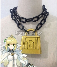 Fate Grand Order Fate Extra CC Saber Nero Claudius Bride Necklace Cosplay Accessory Prop