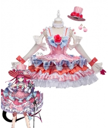 Fate Grand Order Fate EXTRA CCC Lancer Elizabeth Bathory Pink Cosplay Costume