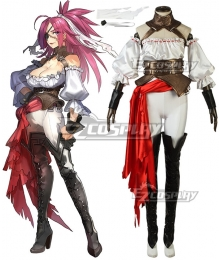 Fate Grand Order Fate EXTRA Last Encore Rider Francis Drake Cosplay Costume