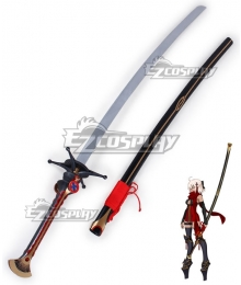 Fate Grand Order Fate KOHA-ACE Alter Ego Okita Souji Purgatory Sword Scabbard Cosplay Weapon Prop