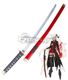Fate Grand Order Fate KOHA-ACE Devil Saber Okita Souji Sword Cosplay Weapon Prop