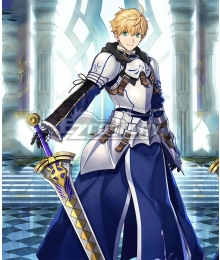 Fate Grand Order Fate Prototype Saber Arthur Pendragon Cosplay Costume