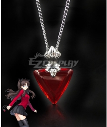 Fate Grand Order Fate Stay Night Rin Tohsaka Necklace Cosplay Accessory Prop