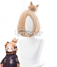 Fate Grand Order FGO 2018 Anniversary Foreigner Abigail Williams Yellow Cosplay Wig - 235Y