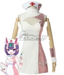 Fate Grand Order FGO Assassin Shuten Douji Nurse Cosplay Costume