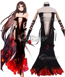 Fate Grand Order FGO Assassin Yu Miaoyi  Ver2 Cosplay Costume