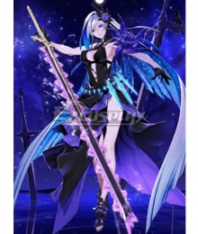 Fate Grand Order FGO Berserker Brynhild Stage 2 Swimsuit Cosplay Costume