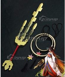 Fate Grand Order FGO Berserker Kijyo Koyo Cosplay Weapon Prop