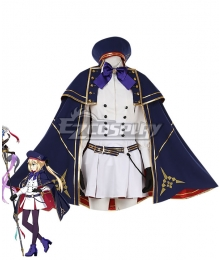 Fate Grand Order FGO Caster Artoria Pendragon Stage 2 Cosplay Costume